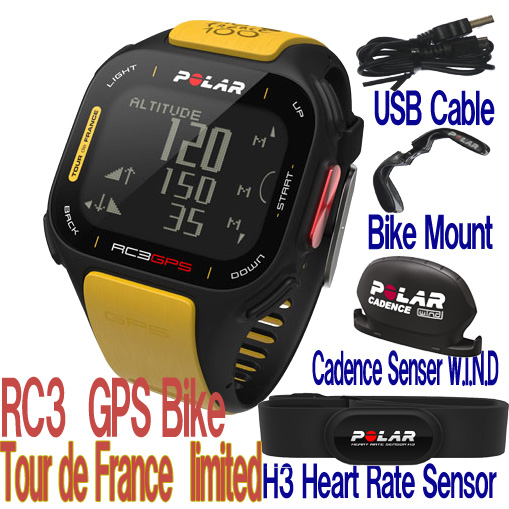 Polar rc3 gps bike Tur de france  限定品