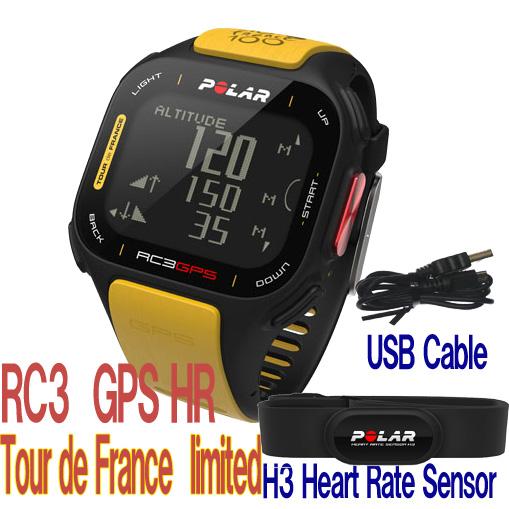 ポラール RC3 GPS HR ツールドフランス(心拍センサー付き) 限定品