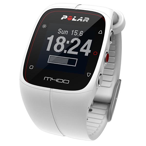 ポラール M400 HR ホワイト(POLAR M400 HR white)心拍センサー付(90051346)