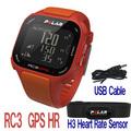 ポラール RC3 GPS HR レッド/オレンジ(Polar RC3 GPS HR レッド/オレンジ)
